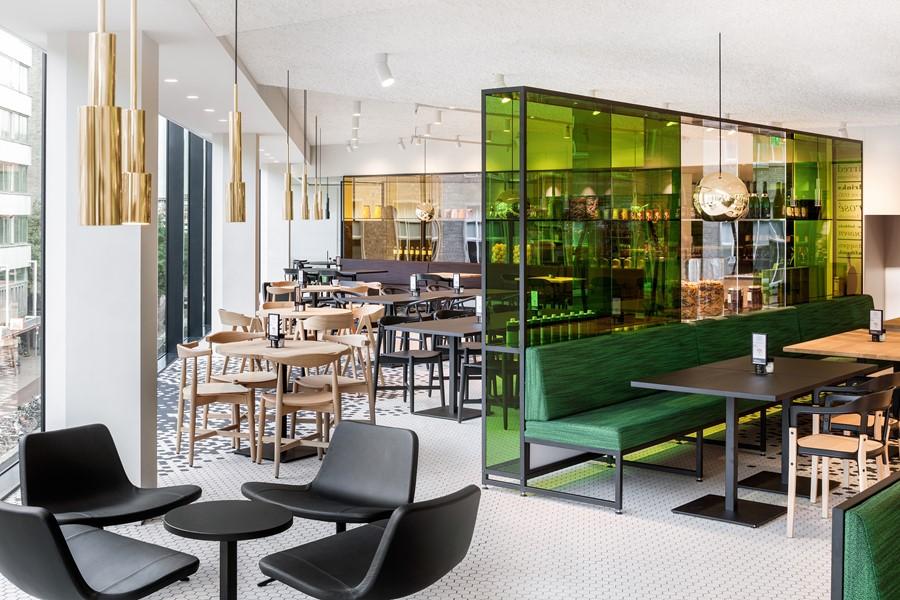 De bijenkorf utrecht restaurant by i29 interior architects for Hotel design utrecht