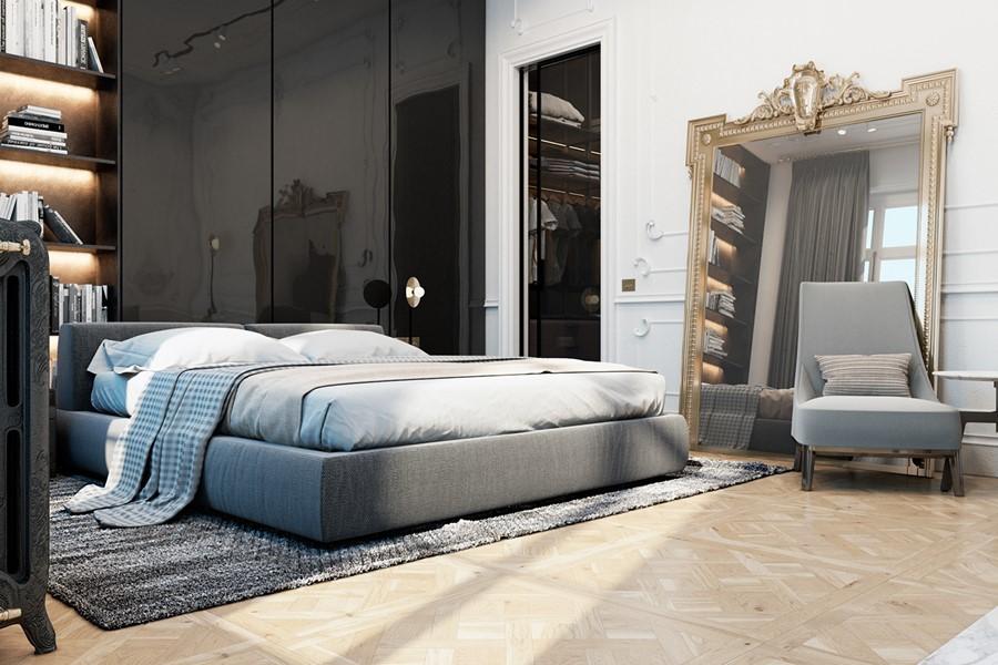Exquisite flat in paris by diff studio 15 myhouseidea for Flat hotel paris