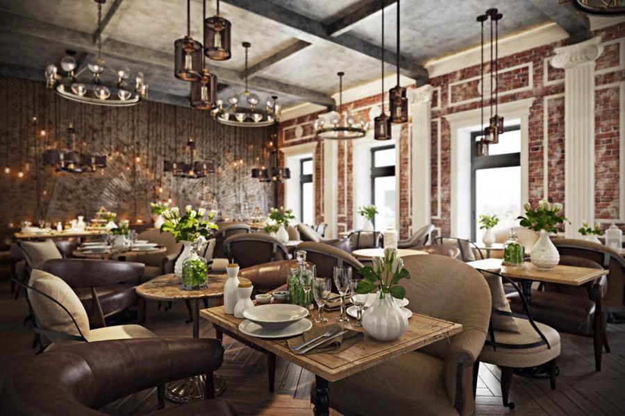 Restaurant interior design by archicgi myhouseidea for Restaurant interior design software