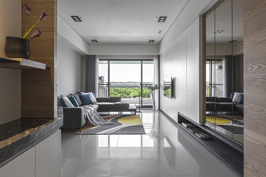 The sunshine house of two sisters by hozo interior design myhouseidea - Interior design onsquare meters solutions from taiwan ...