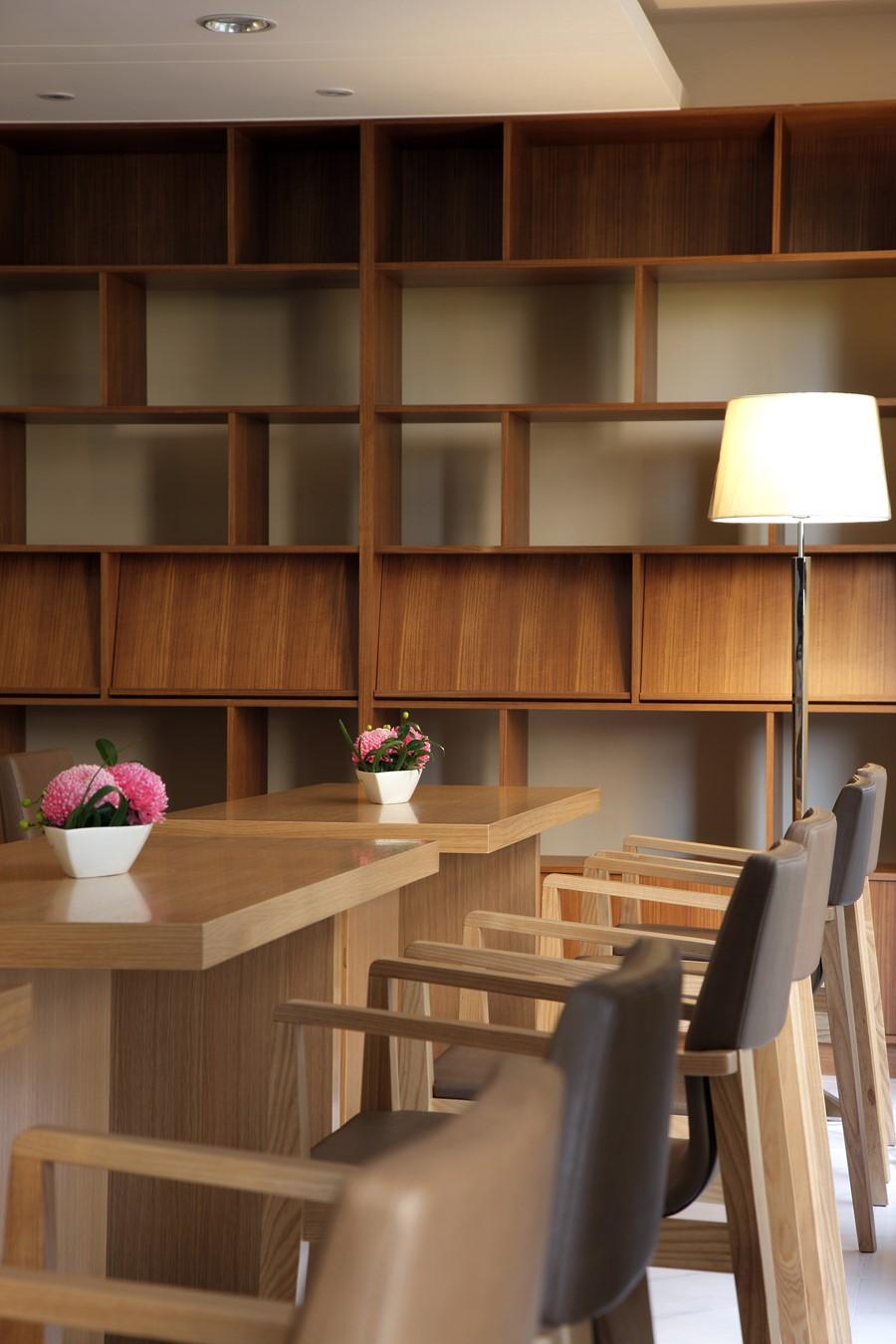 Residential Interior Design: Residential Building Community Facilities By HOZO Interior