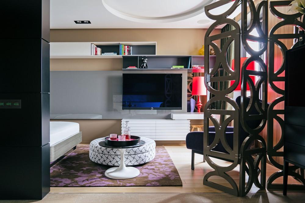 Mandarin apartment by Max Kasymov