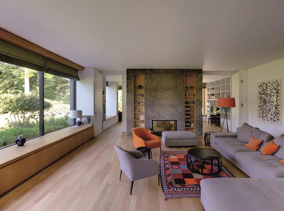 House i by stephan maria lang architects myhouseidea for Villa maria interior design