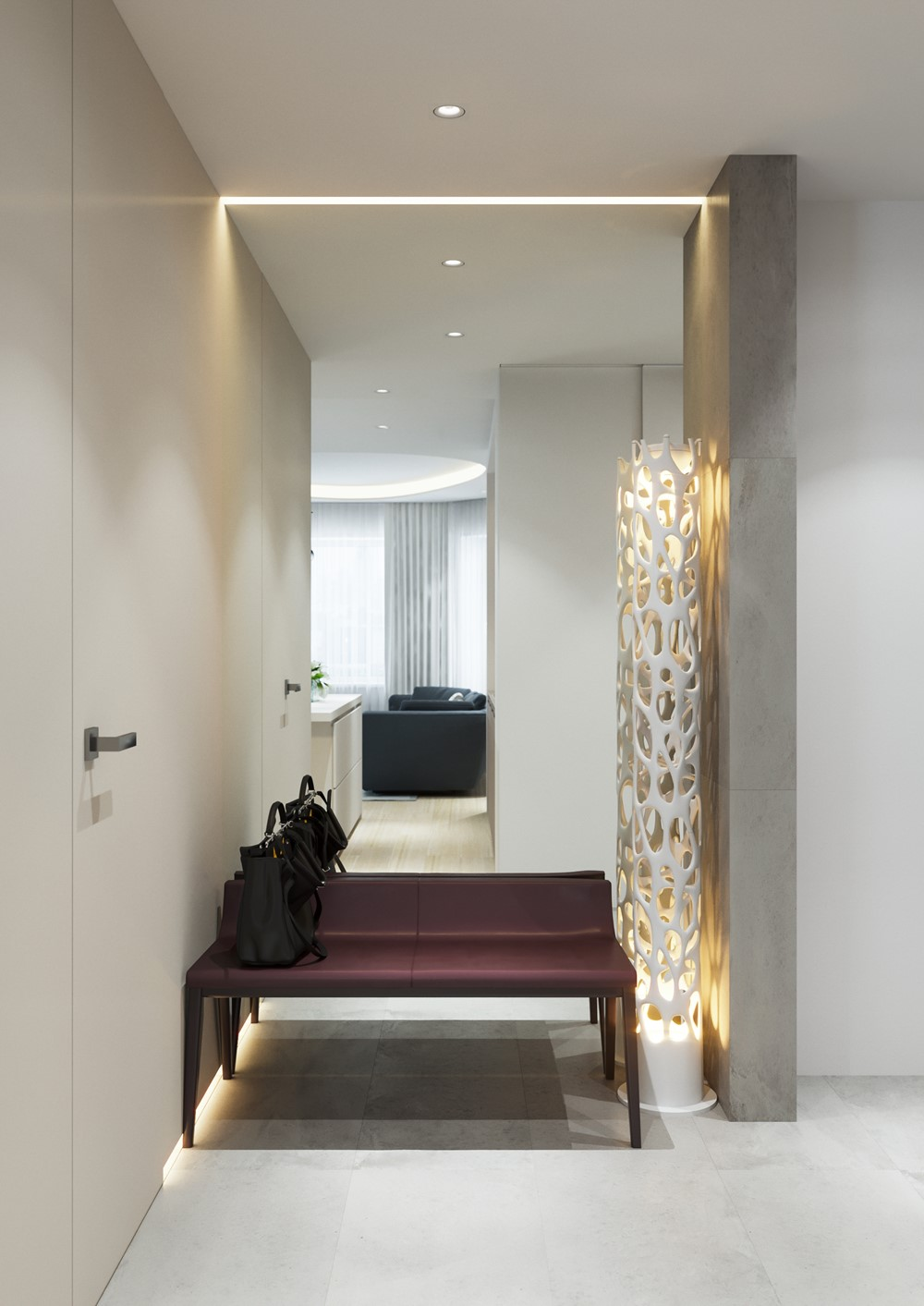 Modern Flat House Design: Modern Flat In Moscow By Shamsudin Kerimov Architects