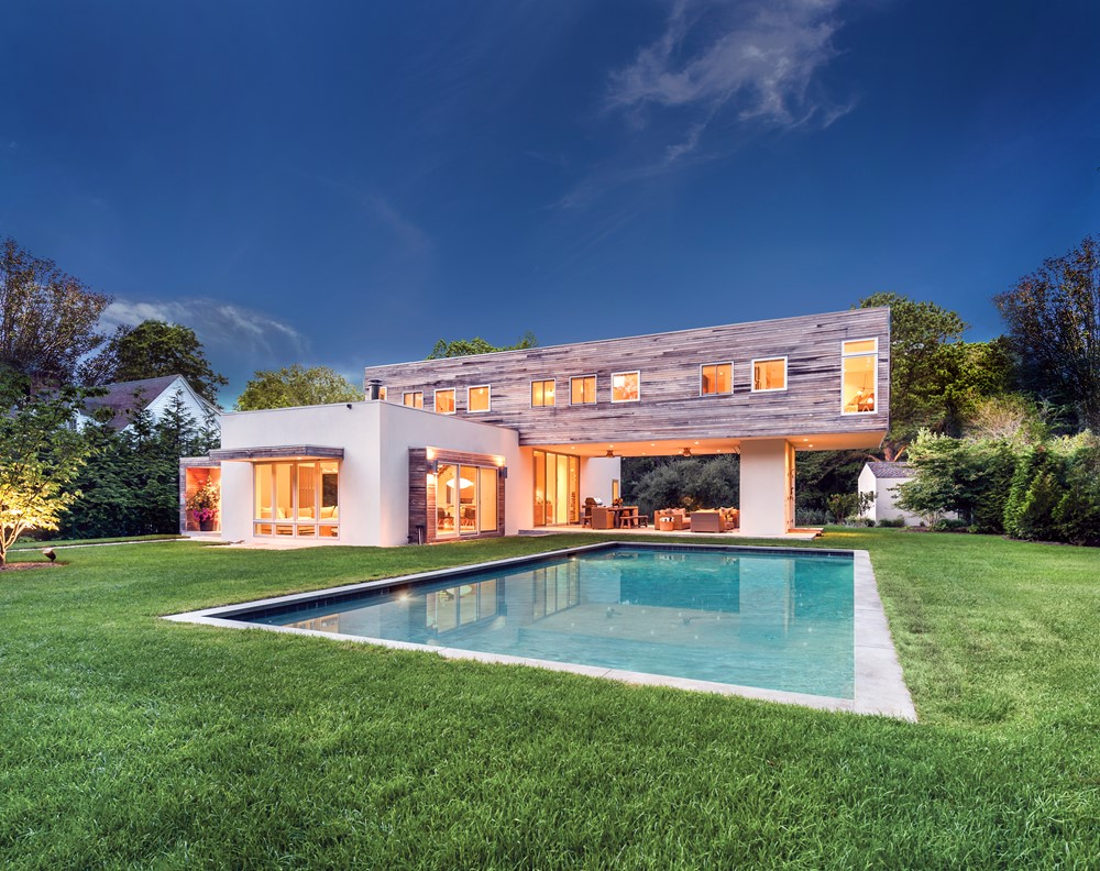 Squires path is a project designed by modern net zero and is located in east hampton ny