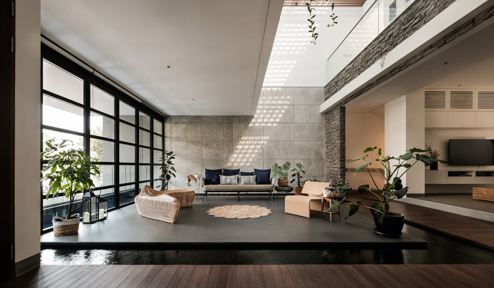 DL House is a project designed by