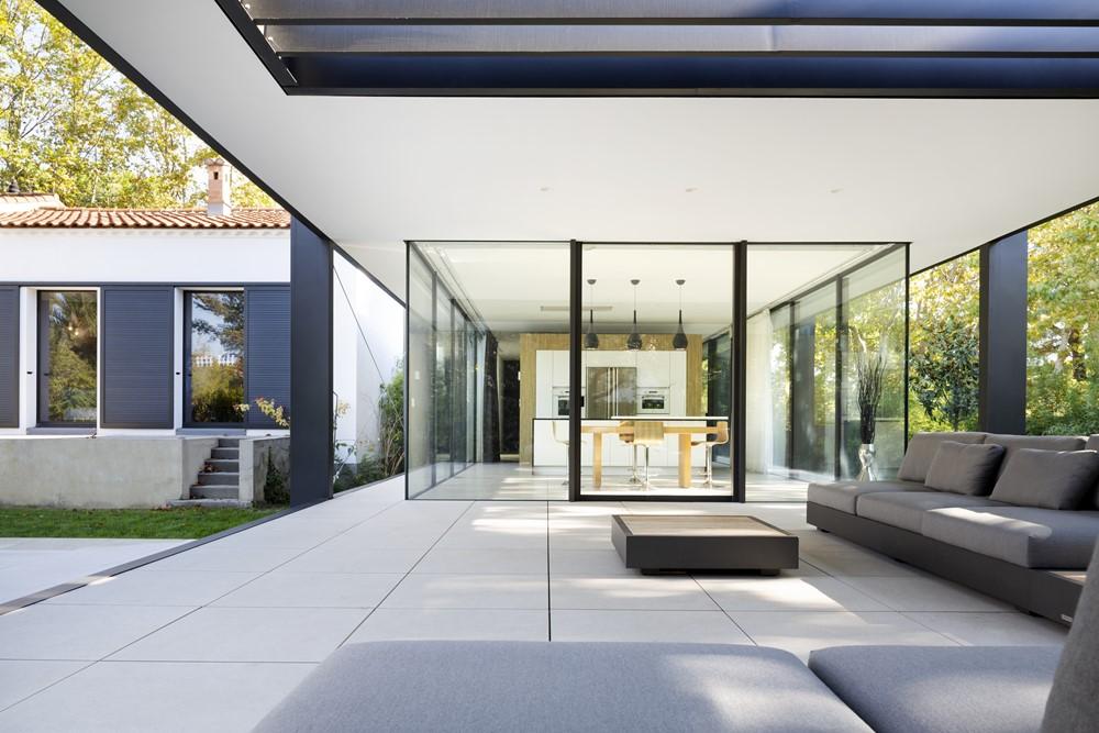 ctn house by brengues le pavec architectes myhouseidea. Black Bedroom Furniture Sets. Home Design Ideas
