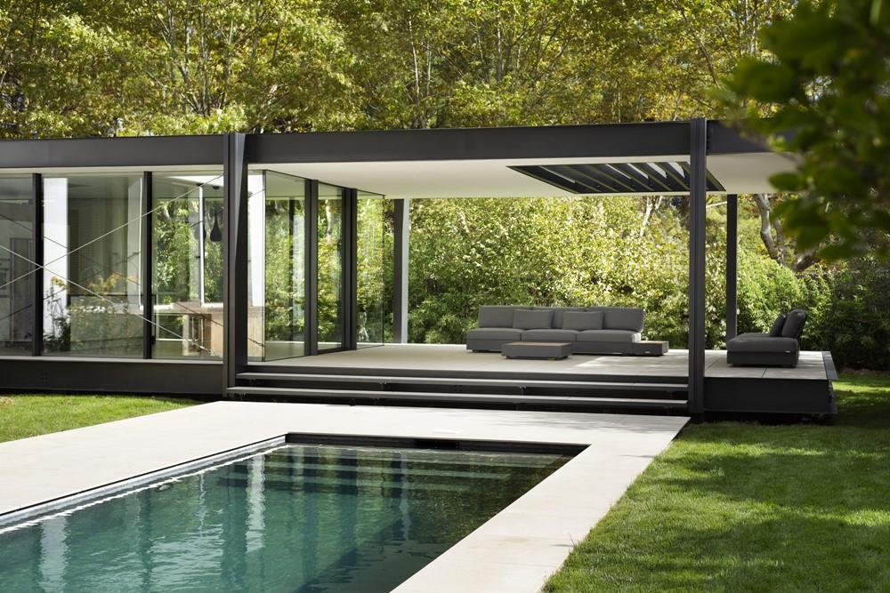 ctn house by brengues le pavec architectes 11 myhouseidea. Black Bedroom Furniture Sets. Home Design Ideas
