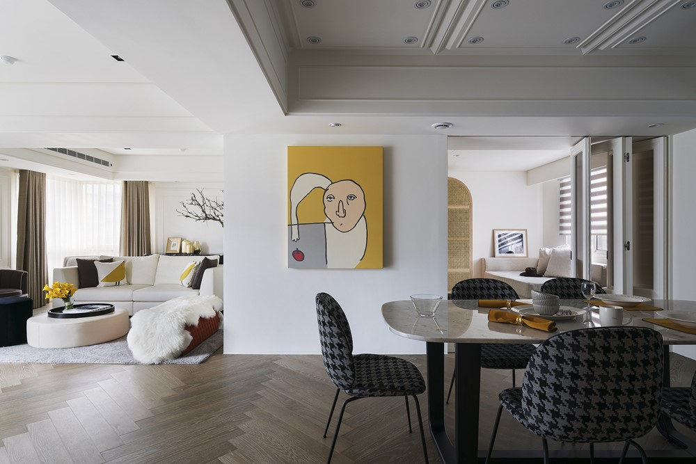 Interior design by YU YA CHING