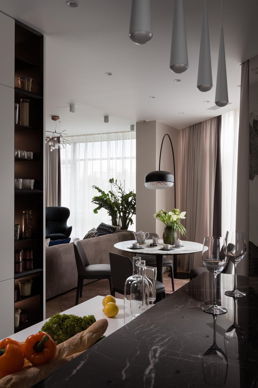 Fine elegant apartment by Bolshakova Interiors 06 ...