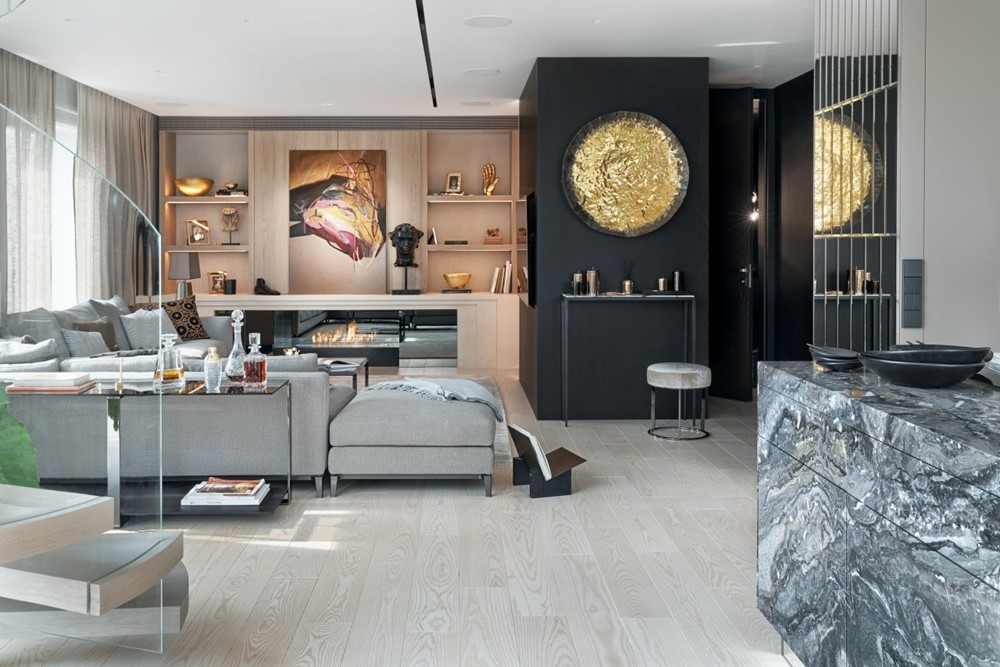 New York Style Apartment By Katarzyna Kraszewska Interior Design Blogs