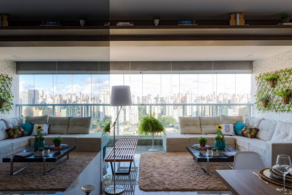 Apartment remodeling by Isabela Lopes