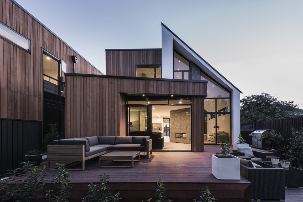 Half Gable Townhouses by South Architects