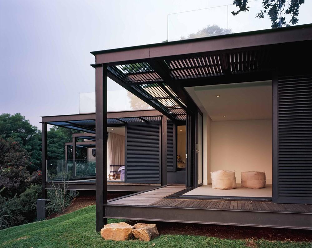 House S, Westcliff Ridge by Daffonchio and Associates Architects
