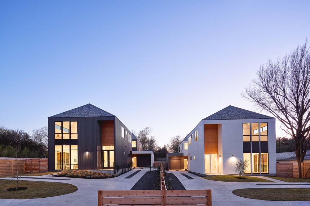 Woodward Duplexes by Davey McEathron Architecture