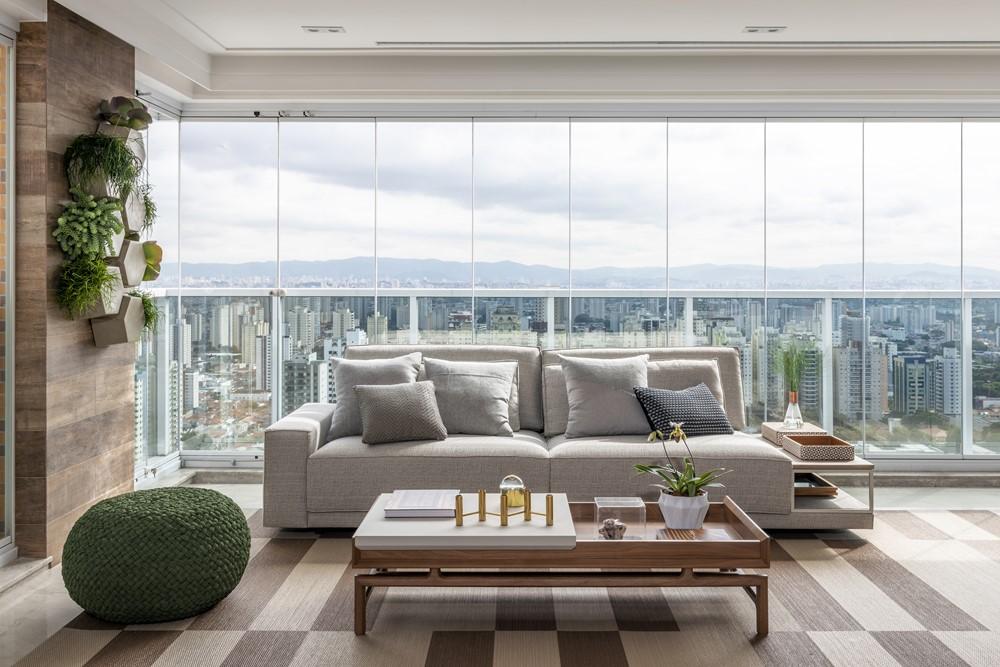 Apartment by Erica Salguero Arquitetura