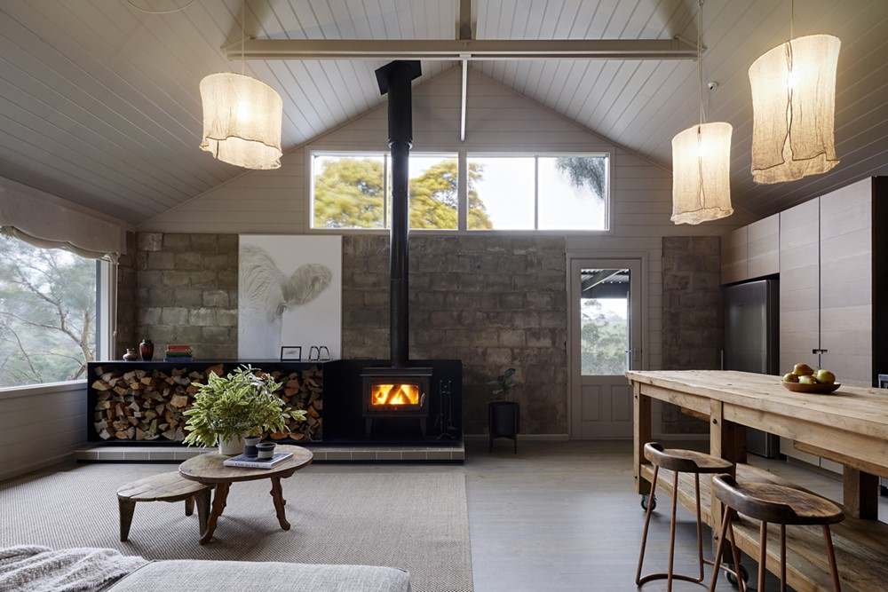 Firewood & Candles by Rachcoff Vella Architecture