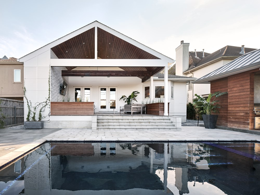 Exterior Renovation by Nathan Fell Architecture