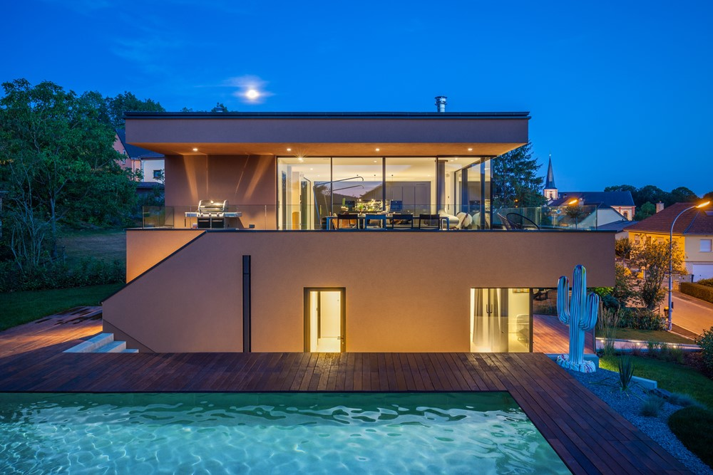 Juglinster House by Saharchitects