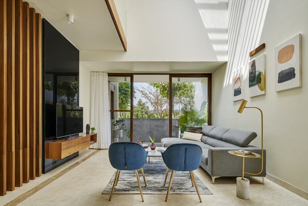 Framed House by Crest Architects