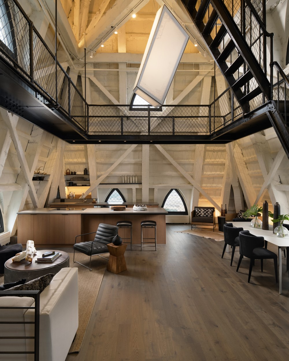 The Penthouse at Smith Tower by Graham Baba Architects
