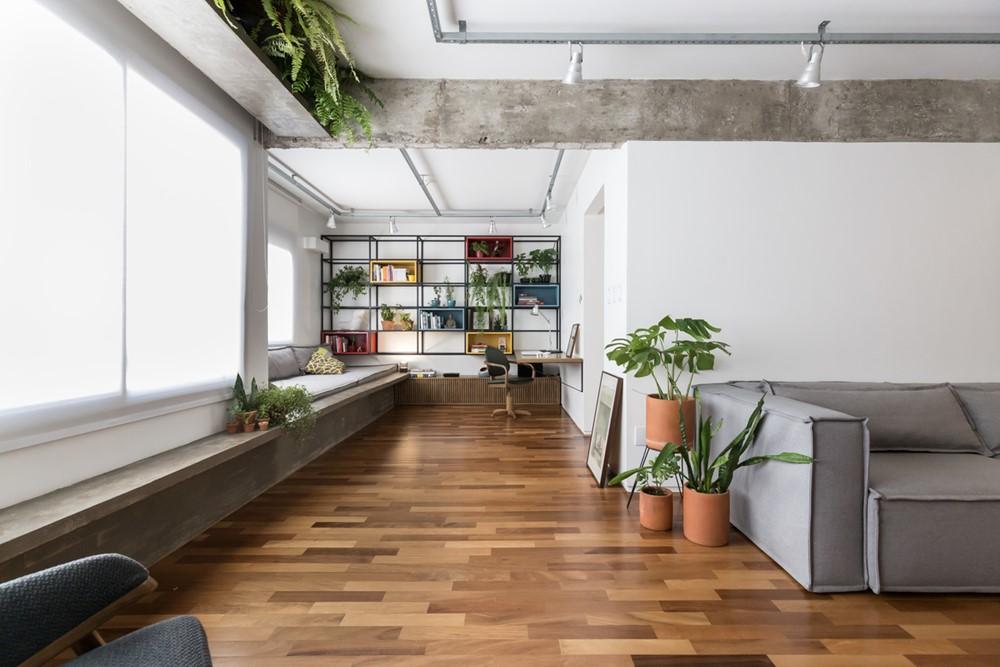 Possamai Apartment by Atelier Aberto Arquitetura