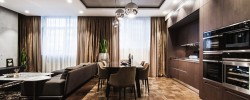 Modern flat in Kyiv by Yo Dezeen