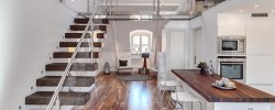 Swedish loft apartment in the Roeda Bergen.