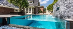 Aquatic Backyard by Centric Design Group.
